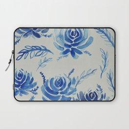 blue succulents Laptop Sleeve