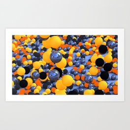 Bubblish Art Print