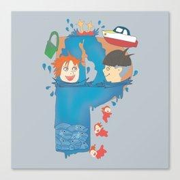Ponosuke Canvas Print