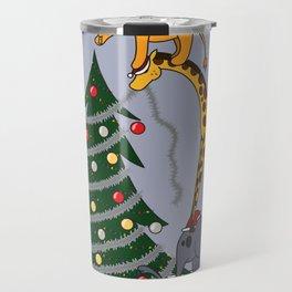 O Christmas Team Travel Mug