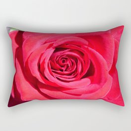 Classic Rose: Color Version Rectangular Pillow