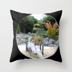 A Hole New World  Throw Pillow