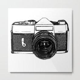 Camera Pop Metal Print
