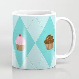 Argyle Cupcakes Coffee Mug