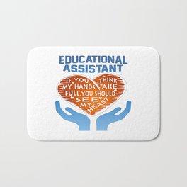 Educational Assistant Bath Mat
