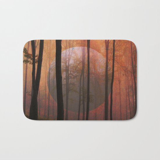 Not From Here, Surreal Forest Bath Mat