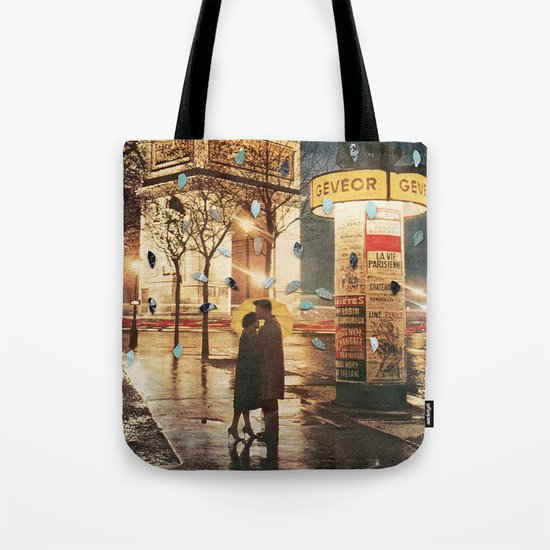 Rain Cant Touch Us Tote Bag