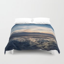 Cape Cod Sunset Duvet Cover