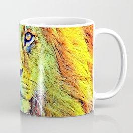 AnimalColor_Lion_009_by_JAMColors Coffee Mug