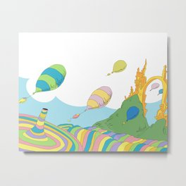 oh the places you'll go .. dr seuss Metal Print