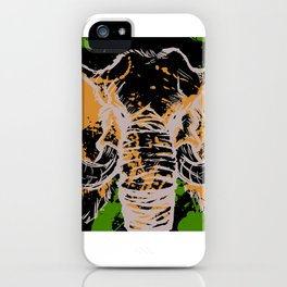 Splatterphant iPhone Case