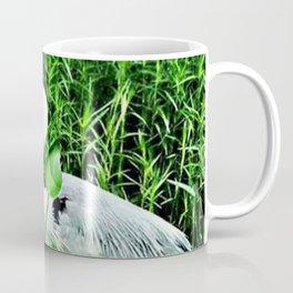 Heron On The Trails Coffee Mug
