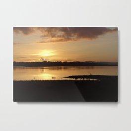 Inch Sunset Metal Print