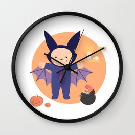 Not so cat Wall Clock