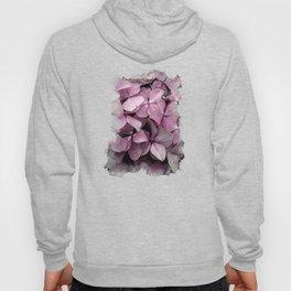 Pink Hydrangeas Hoody