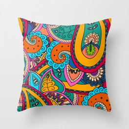 African Style No22 Throw Pillow