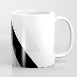 Arrows Monochrome Collage Coffee Mug