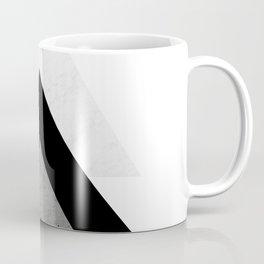 Arrows Monochrome Collage Coffee Mug