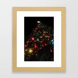 Christmas Balls Framed Art Print