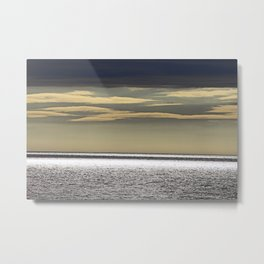 Sky and Ocean  Metal Print