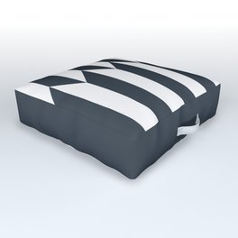 Navy arrows Outdoor Floor Cushion
