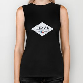 Texas Independence Dy Biker Tank