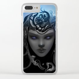 Birth of strengh Clear iPhone Case