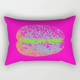 can you read my mind? Rectangular Pillow