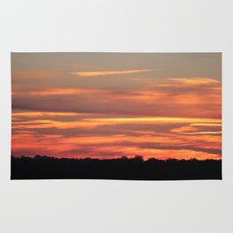 Colorful Clouds Rug