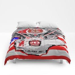 Fire Dept Tribute Comforters
