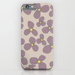 Three-leaf flower-power lilo iPhone Case