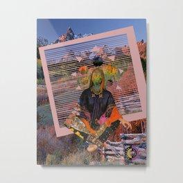 Gypsy Slasher Metal Print