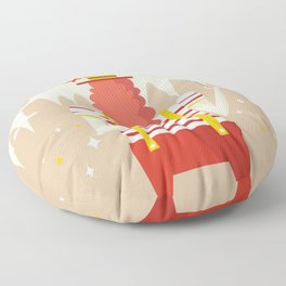 Life is a carnival Floor Pillow