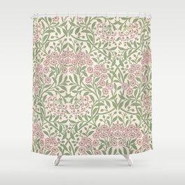 William Morris Michaelmas Daisy Shower Curtain