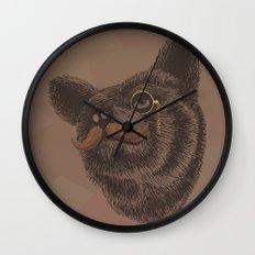 Classy Bear Wall Clock