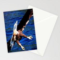 Eagle: The Back Side of Danger Stationery Cards