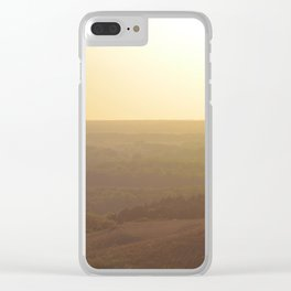 The Manhattan Series: Sunsets in the Midwest Clear iPhone Case