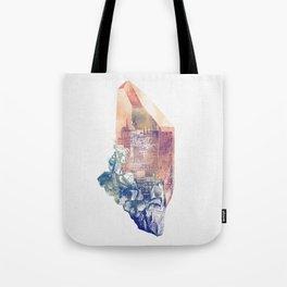 Byzantium Crystal City Tote Bag