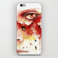 cardinal iPhone & iPod Skins featuring Cardinal  by Chelsea Brouillette