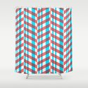 Red Blue Lines Pattern by musabinho