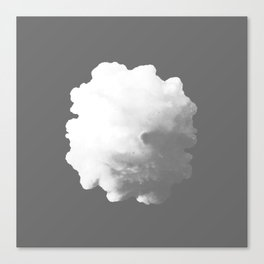 Cloud of Smoke Canvas Print