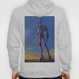 Eva Unit 01- Red in the Morning Hoody