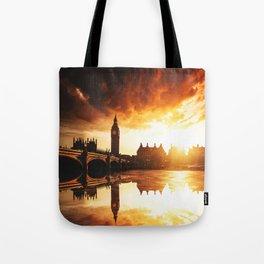 london reflections Tote Bag