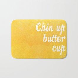 Chin Up Butter Cup Bath Mat