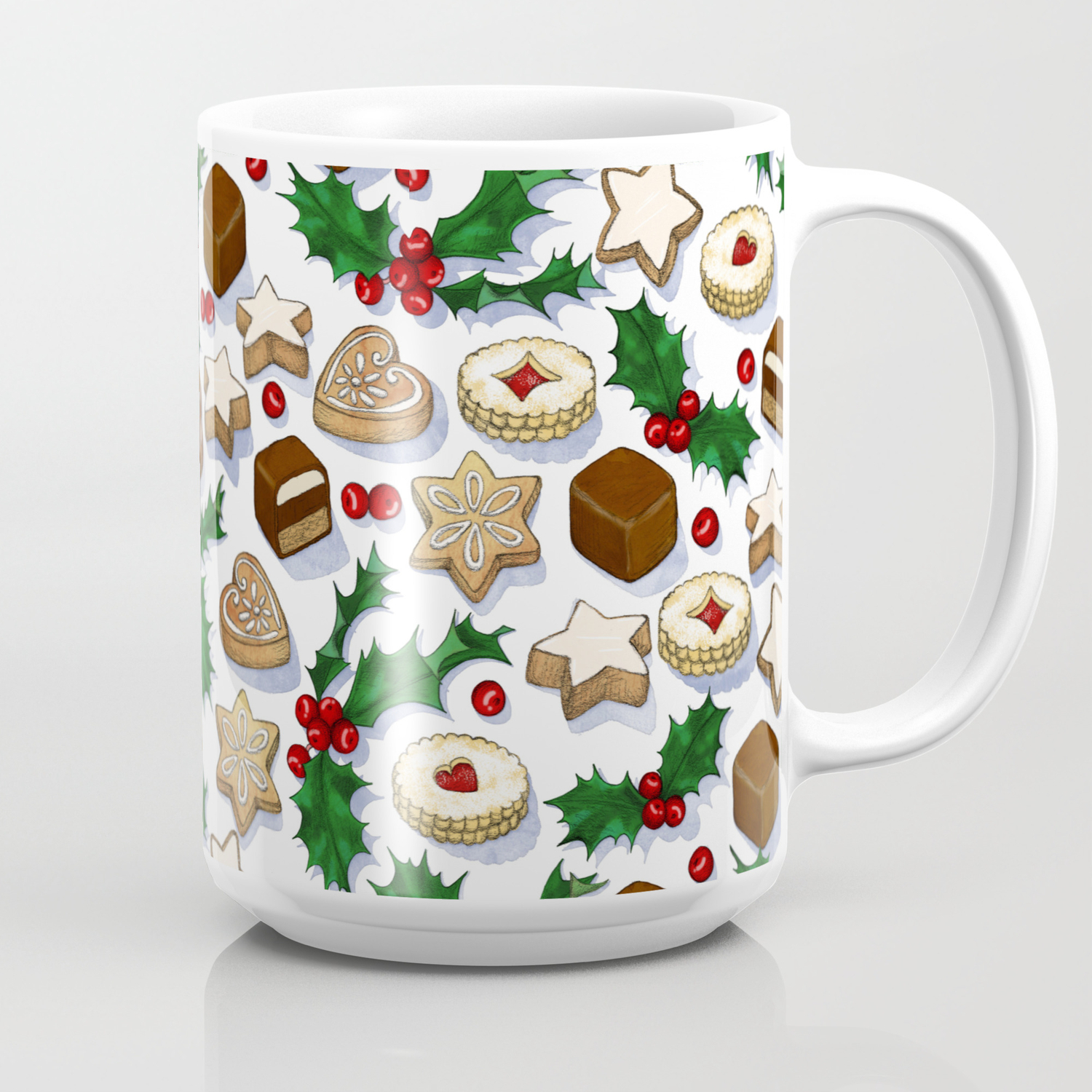 Christmas Treats And Cookies Coffee Mug By Micklyn Society6