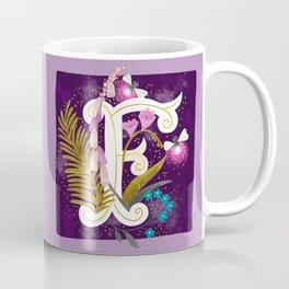 Artsy Alphabet: F Coffee Mug
