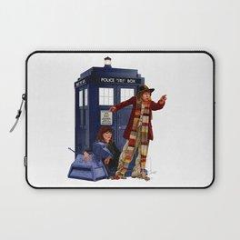 4th Doctor, Sarah Jane, K-9 and the TARDIS Laptop Sleeve