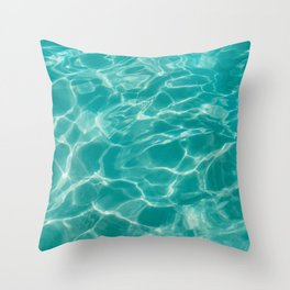Cabo Water II Throw Pillow