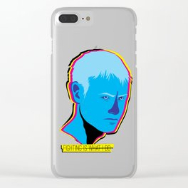 WOLFGANG: Fighting is what I do Clear iPhone Case