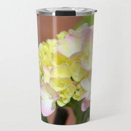 Pastel Hydrangea Travel Mug